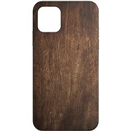 AlzaGuard - Apple iPhone 11 - Dark Wood - Mobile Case