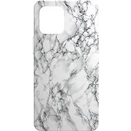 AlzaGuard - Apple iPhone 12 Mini - White Marble - Mobile Case