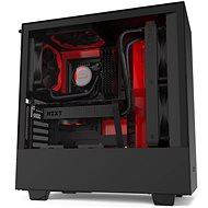 NZXT H510i Matte Black Red - PC Case