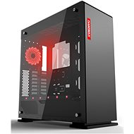 GameMax Vega Black Temp Glass - PC Case