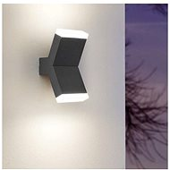 Eglo 97154 - LED OUTDOOR WALL LAMP CANTZO 2xLED/4W/230V IP44
