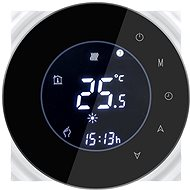 iQtech SmartLife GALW-B, WiFi Thermostat for Boilers with Potential Switching, Black - Thermostat