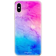 iSaprio Watercolour Paper 01 for iPhone XS - Mobile Case