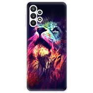 iSaprio Lion in Colours for Samsung Galaxy A32 LTE - Mobile Case
