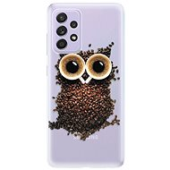 iSaprio Owl And Coffee for Samsung Galaxy A52 - Mobile Case