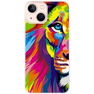 iSaprio Rainbow Lion for iPhone 13 mini - Mobile Case