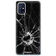 iSaprio Broken Glass 10 for Samsung Galaxy M31s - Mobile Case