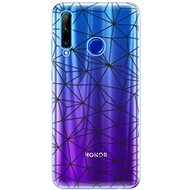 iSaprio Abstract Triangles for Honor 20 Lite - Mobile Case
