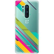 iSaprio Color Stripes 03 for OnePlus 8 Pro - Mobile Case