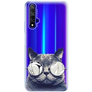 iSaprio Crazy Cat 01 for Honor 20 - Mobile Case
