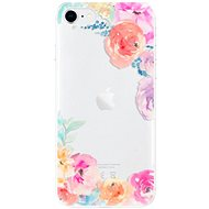 iSaprio Flower Brush for iPhone SE 2020 - Mobile Case