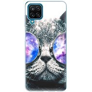 iSaprio Galaxy Cat for Samsung Galaxy A12 - Mobile Case