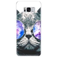 iSaprio Galaxy Cat for Samsung Galaxy S8 - Mobile Case