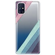 iSaprio Glitter Stripes 01 for Samsung Galaxy M31s - Mobile Case