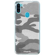 iSaprio Grey Camouflage 02 for Samsung Galaxy M11 - Mobile Case