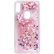 iWill Glitter Liquid Heart Case for HUAWEI Y6 (2019), Pink