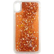 iWill Glitter Liquid Star Case for Apple iPhone Xr, Rose Gold - Mobile Case
