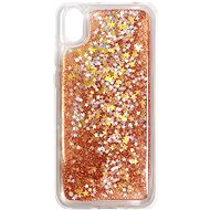 iWill Glitter Liquid Star Case for HUAWEI Y5 (2019)/Honor 8S, Rose Gold