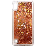 iWill Glitter Liquid Star Case for Samsung Galaxy A10, Rose Gold - Mobile Case