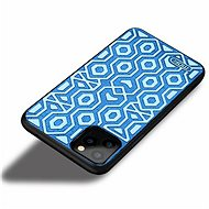 MoFi Anti-Slip Back Case Irregular for iPhone 10 Blue