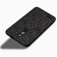 MoFi Anti-Slip Back Case Irregular for Xiaomi Mi 9T/9T Pro Black - Mobile Case
