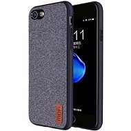 MoFi Fabric Back Cover for iPhone 7/8/SE 2020, Grey - Mobile Case
