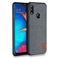MoFi Fabric Back Cover for Samsung Galaxy A40 Grey