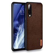 Mobile Case MoFi Fabric Back Cover for Xiaomi Mi 9 Brown - Kryt na mobil