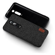 MoFi Fabric Back Cover for Xiaomi Mi 9T/9T Pro Black - Mobile Case