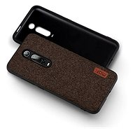MoFi Fabric Back Cover for Xiaomi Mi 9T/9T Pro Brown - Mobile Case