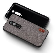 MoFi Fabric Back Cover for Xiaomi Mi 9T/9T Pro Grey - Mobile Case