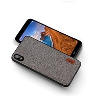 MoFi Fabric Back Cover for Xiaomi Redmi 7A Grey