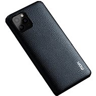 MoFi Litchi PU Leather Case for iPhone 11 Pro Black - Mobile Case