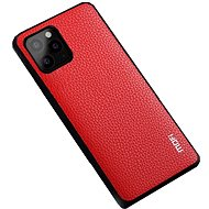 MoFi Litchi PU Leather Case for iPhone 11 Pro Max Red - Mobile Case
