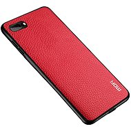 MoFi Litchi PU Leather Case for iPhone 7/8/SE 2020, Red - Mobile Case