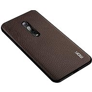 MoFi Litchi PU Leather Case Xiaomi Mi 9T/9T Pro Brown - Mobile Case