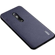 MoFi Litchi PU Leather Case Xiaomi Mi 9T/9T Pro Blue - Mobile Case