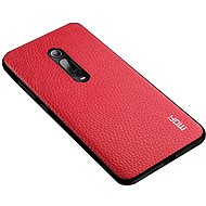 MoFi Litchi PU Leather Case Xiaomi Mi 9T/9T Pro Red - Mobile Case