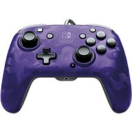 PDP Faceoff Deluxe+ Audio Controller - Purple - Nintendo Switch - Gamepad