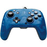 PDP Faceoff Deluxe+ Audio Controller - Blue - Nintendo Switch