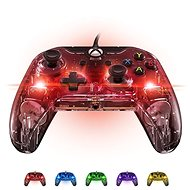 PDP Afterglow Wired Controller - Xbox One - Transparent, Glowing