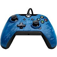 PDP Wired Controller - Xbox One - Blue Camo - Gamepad