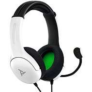 PDP LVL40 Wired Headset - White - Xbox - Gaming Headphones