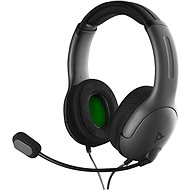 PDP LVL40 Wired Headset - Black - Xbox One - Gaming Headphones