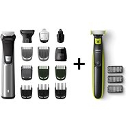 Philips Series 7000 MG7745 / 15 + OneBlade QP2520 / 20 - Trimmer