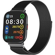 WowME Watch TS Black with Milanese Strap - Smartwatch