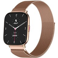 WowME Watch TS Rose-gold with Milanese Strap - Smartwatch