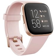 Fitbit Versa 2 (NFC) - Petal/Copper Rose - Smartwatch