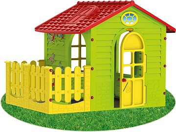 Garden Play House Children MochToys 5907442108392/ Indoor//Outdoor Play House with Fence