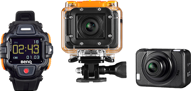 Action Video Camera With Remote Control